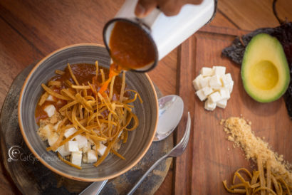 food photography soup