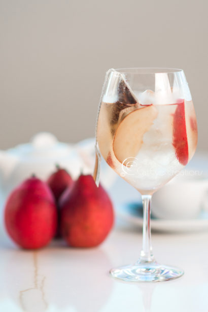 mixology photography at grand hyatt red pear and tea